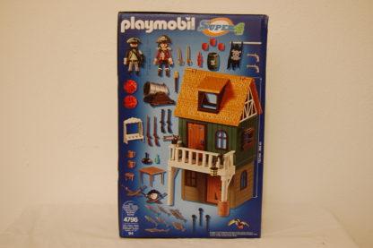 PLAYMOBIL 4796 Getarnte Piratenfestung mit Ruby