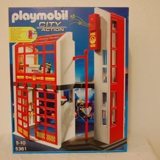 PLAYMOBIL 5361 Feuerwehrstation mit Alarm