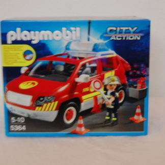 PLAYMOBIL - Brandmeisterfahrzeug mit Licht - 5364