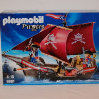 PLAYMOBIL - Soldaten-Kanonensegler - 6681