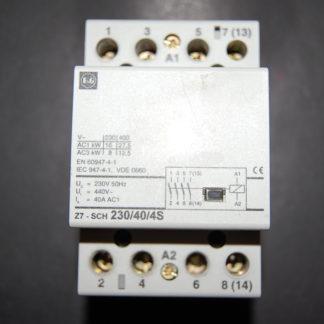 F&G Installationsschütz Z7-sch 230/40/4S