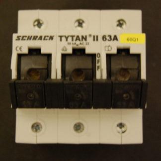 Schrack TYTAN II 63A Lastentrennschalter