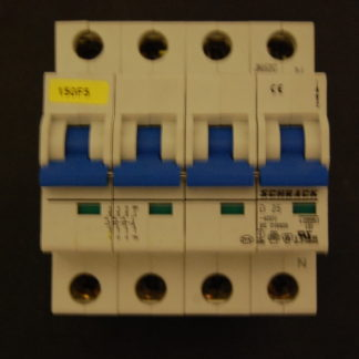 Schrack D25 3/N Sicherungsautomat