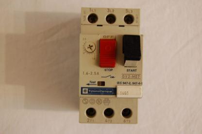 telemecanique GV2 - M07 Motorschutzschalter 1.6 - 2.5A