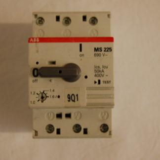 ABB MS225 Motorschutzschalter  1,0 - 1,6A
