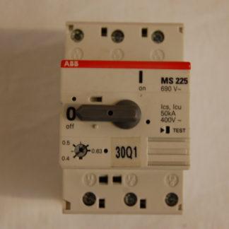 ABB MS225 Motorschutzschalter 0,4 - 0,63 A