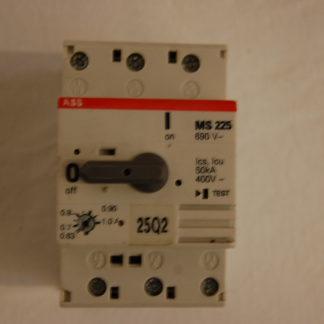 ABB MS 225 Motorschutzschalter 0,63 - 1,0A