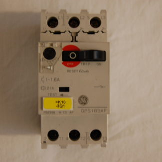 General Electric GPS1 BSAF 1-1,6A Motorschutzschalter