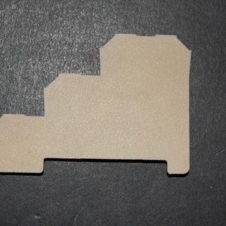 Weidmüller Abschlussplatte AP DLI 2,5