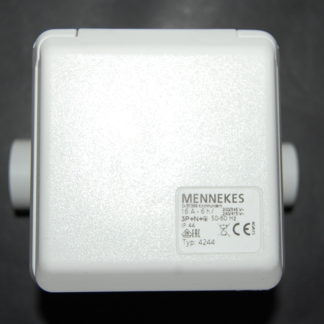 Mennekes Starkstrom Steckdose 16A Typ 4244 Weiß