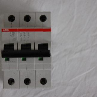 ABB S263 C16 3pol. Sicherungsautomat