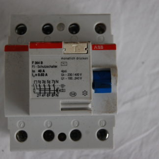 ABB FI Schutzschalter F364 B  003