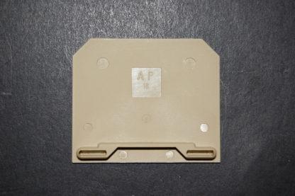 Weidmüller AP 16 Abschlussplatte