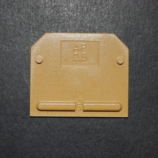 Weidmüller AP 2,5 Abschlussplatte