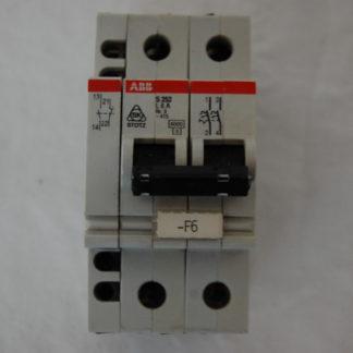 ABB S252-NA L6A Sicherungsautomat + Hilfsschalter