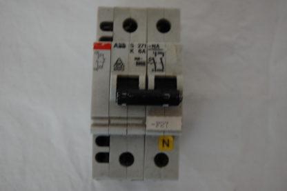 ABB S271-NA K6A  Sicherungsautomat + Hilfsschalter