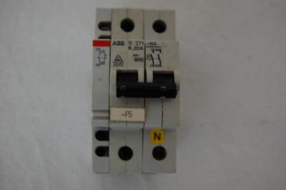 ABB S271 - NA  K20A Sicherungsautomat + Hilfsschalter