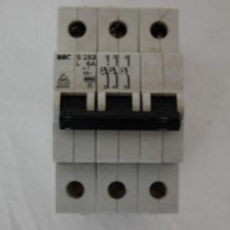 BBC S253 L6A 3pol. Sicherungsautomat