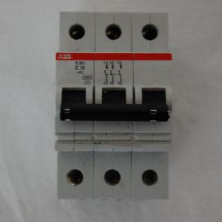 ABB S263 C10 3pol. Sicherungsautomat