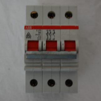 ABB E273  63A  3pol. Sicherungsautomat