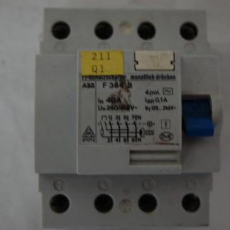 ABB FI SChutzschalter 364B 40A 0,1