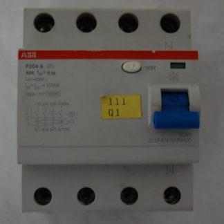 ABB FI Schutzschalter  F204A  40A  01