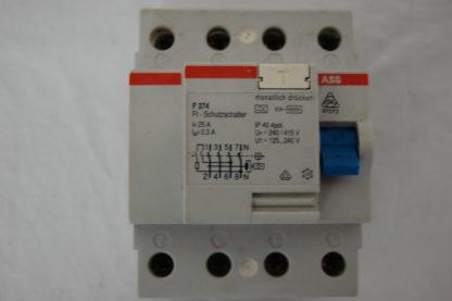 ABB FI Schutzschalter F374 25A 03