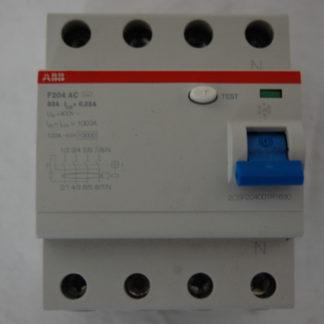 ABB FI Schutzschalter F204AC-63A 003