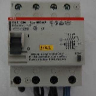 ABB Smissline FI Schutzschalter FIS 63 A   300mA