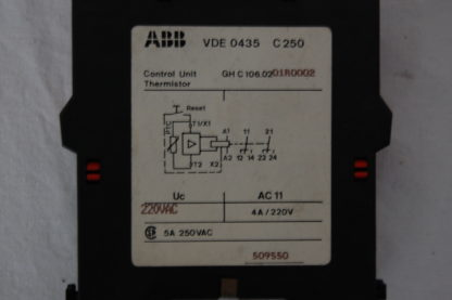 ABB C106.02 Motorschutzrelais
