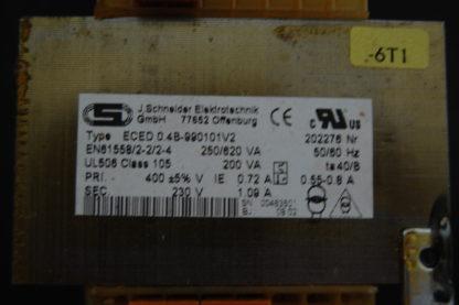 Schneider  Typ ECED 0.4-990101V2 Transformator
