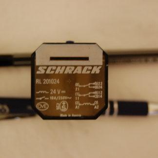 Schrack Relais RL 201024  ohne Sockel