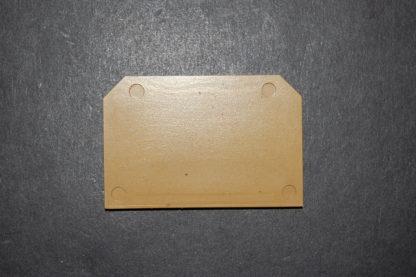 Weidmüller SAK S1  S3 Abschlussplatte