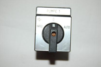 Kraus & Naimer Schlter CG8 210  Hand 0 Auto Pumpe 1