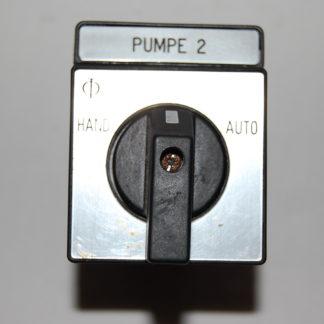Kraus & Naimer Schalter CG8  A210  Pumpe 2 Hand - 0 - Auto
