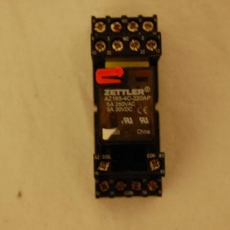 Zettler Relais AZ165-4c-22AP  Mit sockel