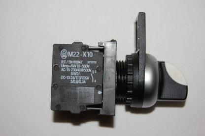Klöckner Moeller M22-K10 Wahltaste mit 2 Kontaktelemente Hand - 0 -  Auto