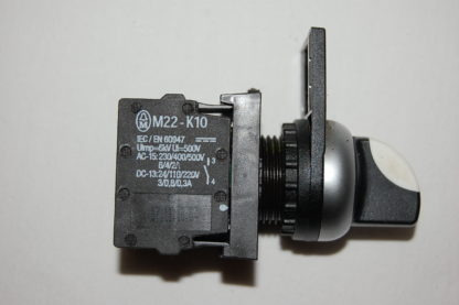 Klöckner Moeller  M22-K10 Wahltaste mit 2 Kontaktelemente  Pumpe 1  H-0-A