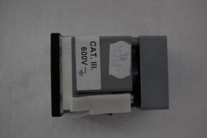 Analoger Ampeermeter 10A Einbaumasse 43mm x 43mm x 62mm