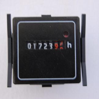 Betriebsstundenzähler analog für Schaltschrankeinbau Einbaumasse 44mm x 44mm x 33mm