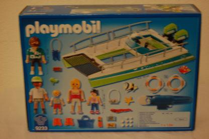 Playmobil Glasbodenboot mit Unterwassermotor 9233