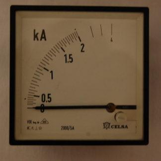 Celsa 0 - 2 KA für Schaltschrankeinbau Einbaumasse 88 mm x 88 mm x 60mm