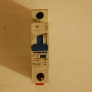 Schrack Sicherungsautomat 1pol. B16