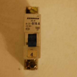 Schrack Sicherungsautomat SD-81 Nr. 22 U16A 1pol