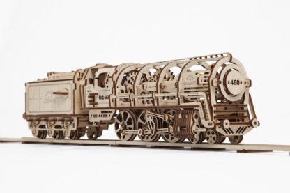 UGears Lokomotive mit Tender