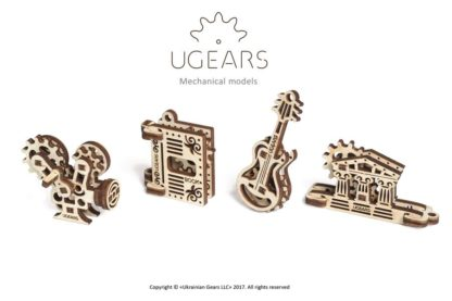 UGears 4er Set Minimodelle