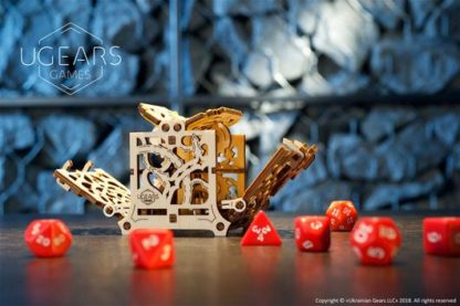 UGears Games: Würfelbox - Dice Keeper