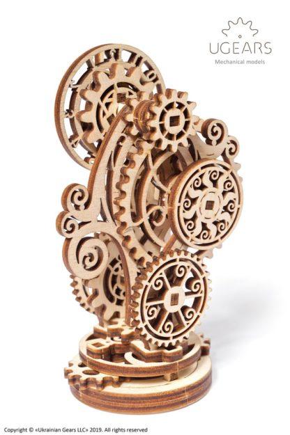 UGears Uhr im Steampunk Design