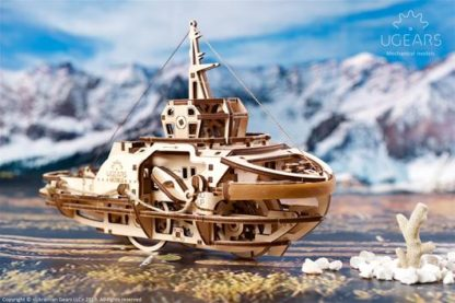 UGears Hafenschlepper / Schleppschiff