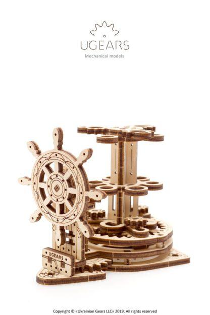 UGears Rad der bunten Stifte - Wheel Organizer